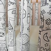 Для дома и интерьера ручной работы. Ярмарка Мастеров - ручная работа Бортики на детскую кроватку.. Handmade.