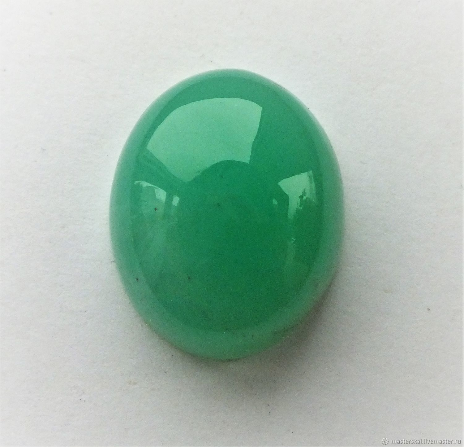 Chrysoprase cabochon, Cabochons, Moscow,  Фото №1