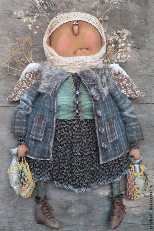 Коллекционные куклы ручной работы. Ярмарка Мастеров - ручная работа. Купить Кормилица!. Handmade. Разноцветный, интерьерная кукла, краски акриловые