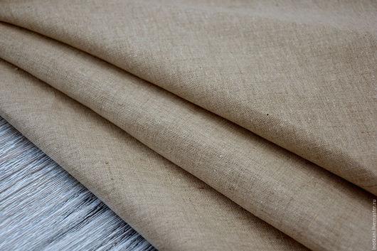 Шитье ручной работы. Ярмарка Мастеров - ручная работа. Купить Ткань льняная натуральная кислованая пл.200гр./м2. Handmade.