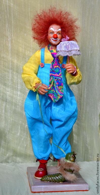 Коллекционные куклы ручной работы. Ярмарка Мастеров - ручная работа. Купить Интерьерная авторская кукла Летним днем. Handmade. Разноцветный