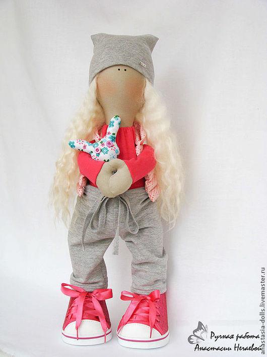 Куклы тыквоголовки ручной работы. Ярмарка Мастеров - ручная работа. Купить Интерьерная кукла. Спортивная  девочка). Handmade. Интерьерная кукла