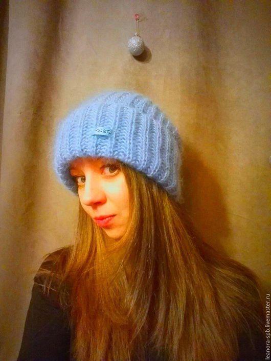 Шапки ручной работы. Ярмарка Мастеров - ручная работа. Купить Шапка в стиле Tak.Ori. Handmade. Разноцветный, теплая шапка