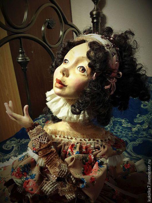Авторская будуарная кукла Юленька.
