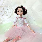 Куклы и игрушки ручной работы. Ярмарка Мастеров - ручная работа Розовая жемчужинка. Авторская кукла. Handmade.