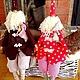 Куклы Тильды ручной работы. Ярмарка Мастеров - ручная работа. Купить Новогодние Тильды.Тильда Санта и его помощники)). Handmade.
