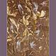 Фэнтези ручной работы. Светлячки в саду. Логинова Аннет. Ярмарка Мастеров. Картина пастелью, цветы, шоколадный, день ангела, сад