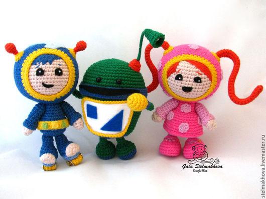 Вязание ручной работы. Ярмарка Мастеров - ручная работа. Купить Игрушки Умизуми (три мастер-класса). Handmade. Разноцветный