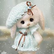 Куклы и игрушки handmade. Livemaster - original item Snowflake Bunny knitted toy. Handmade.