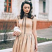 Dresses handmade. Livemaster - original item dress guests. Handmade.
