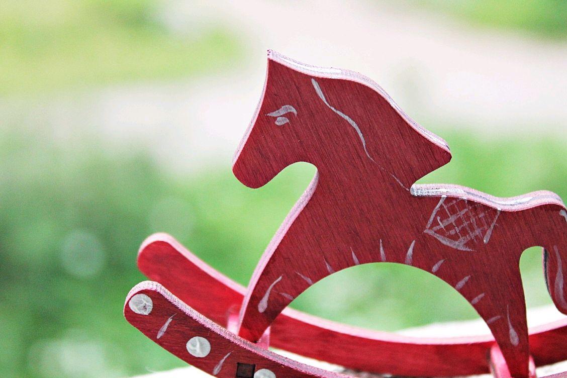 Детская ручной работы. Ярмарка Мастеров - ручная работа. Купить Лошадка с ручной росписью. Handmade. Лошадь, розовый, лошадки