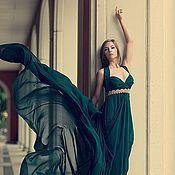 """Одежда ручной работы. Ярмарка Мастеров - ручная работа Платье """"Изумруд"""". Handmade."""