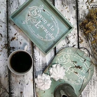 """Посуда ручной работы. Ярмарка Мастеров - ручная работа Доска для подачи """"Прованс"""". Handmade."""