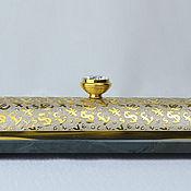 Канцелярские товары handmade. Livemaster - original item Pencil case, Cabinet case for pen