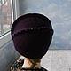 """Шляпы ручной работы. Заказать шляпка """"Антуанетта"""". ZIMa    (Ирина)          FeltHouse. Ярмарка Мастеров. Валяные шляпы, войлочные шапки"""
