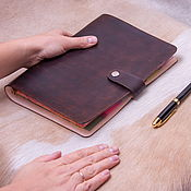 Канцелярские товары handmade. Livemaster - original item Notepad on rings