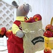 Куклы и игрушки ручной работы. Ярмарка Мастеров - ручная работа Мешок яблок и мышки впридачу. Handmade.