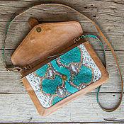 Сумки и аксессуары handmade. Livemaster - original item Bag genuine Python leather Valencia. Bag made of Python. Handmade.