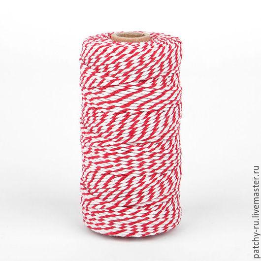 Шитье ручной работы. Ярмарка Мастеров - ручная работа. Купить Декоративный шнурок Dailylike 01 red. Handmade. Dailylike, скрап