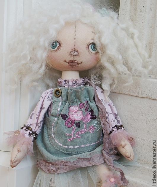 """Куклы тыквоголовки ручной работы. Ярмарка Мастеров - ручная работа. Купить """"Одуванчик"""" кукла тыквоголовка. Handmade. Куклы и игрушки, природа"""