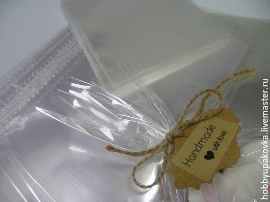 Упаковка ручной работы. Ярмарка Мастеров - ручная работа. Купить Пакет 32х45 см (20 штук) под завязку/запайку. Handmade.