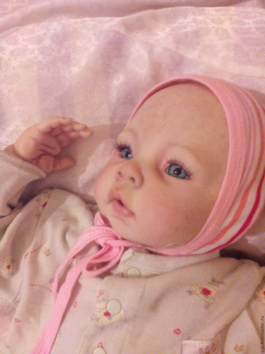Куклы-младенцы и reborn ручной работы. Ярмарка Мастеров - ручная работа. Купить Куколка реборн малышка-Ева. Handmade. Махер