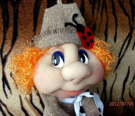 Сказочные персонажи ручной работы. Ярмарка Мастеров - ручная работа. Купить Кукла  Ведьмочка. Handmade. Ведьмочка, скульптурный текстиль