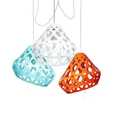 Для дома и интерьера ручной работы. Ярмарка Мастеров - ручная работа ZAHA LIGHT трехцветная трехрожковая люстра 31. Handmade.