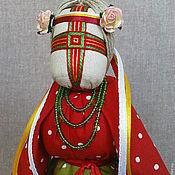 """Куклы и игрушки ручной работы. Ярмарка Мастеров - ручная работа Кукла-мотанка """"Тюльпан"""". Handmade."""
