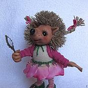 Куклы и игрушки ручной работы. Ярмарка Мастеров - ручная работа Ёжик Луиза. Handmade.