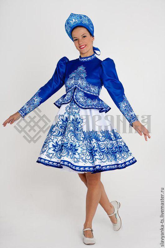 Русский народный костюм для девочки своими руками