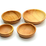 Посуда handmade. Livemaster - original item Set of wooden dishes for food. Dish cedar. Handmade.