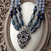 Украшения handmade. Livemaster - original item Necklace snow Queen.. Handmade.