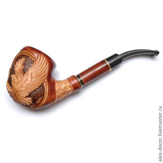 Подарки для мужчин, ручной работы. Ярмарка Мастеров - ручная работа. Купить Курительная трубка Estupedo-E11070-4. Handmade. Трубка