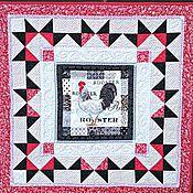 Tablecloths handmade. Livemaster - original item Patchwork cloth-countertop pastoral patchwork. Handmade.