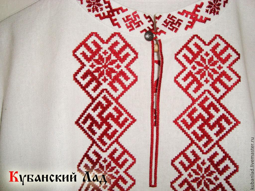Вышивка для славянской рубахи 86