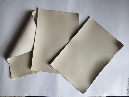 Шитье ручной работы. Ярмарка Мастеров - ручная работа. Купить листы экокожи №15 серый. Handmade. Кожа, кожа для украшений