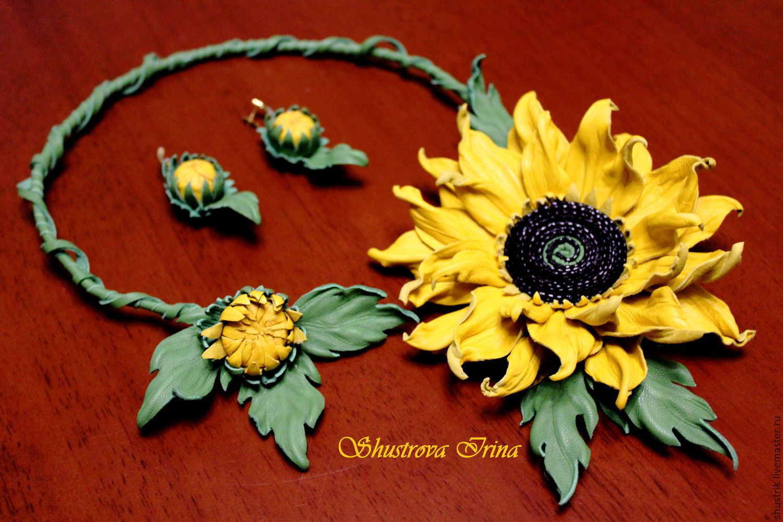 Set 'Sunflower', Jewelry Sets, Sergiev Posad,  Фото №1