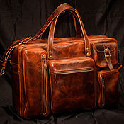 Сумки и аксессуары handmade. Livemaster - original item Bag made of thick leather.. Handmade.