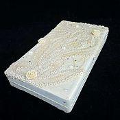 Подарки к праздникам handmade. Livemaster - original item Copernica ,,Wedding,,jewelry box for the money. Handmade.