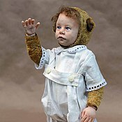 Куклы и игрушки ручной работы. Ярмарка Мастеров - ручная работа Тедди-долл Малыш. Handmade.