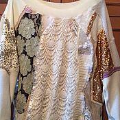 Одежда handmade. Livemaster - original item Boho jumper Lace. Handmade.