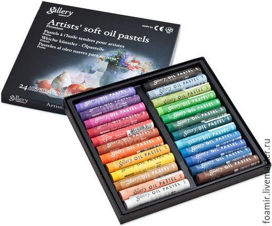 Mungyo Пастель масляная профессиональная мягкая 24 цвета