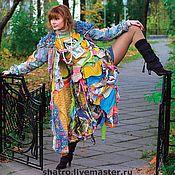 Одежда ручной работы. Ярмарка Мастеров - ручная работа платье ВЕСЕЛАЯ МОЗАИКА. Handmade.
