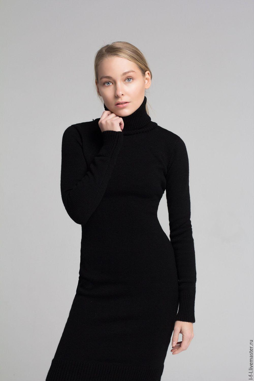 Платье Водолазка Купить