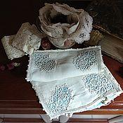 Винтаж ручной работы. Ярмарка Мастеров - ручная работа Антикварная наволочка с вышивкой. Handmade.