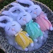 Куклы и игрушки handmade. Livemaster - original item Bunny Scops owls. Handmade.