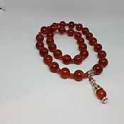 Фен-шуй и эзотерика handmade. Livemaster - original item Rosary made of carnelian, agate and tinted quartz.. Handmade.