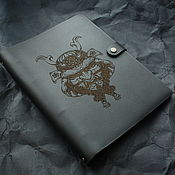 Канцелярские товары handmade. Livemaster - original item Notebook with rings. Handmade.