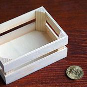 Куклы и игрушки ручной работы. Ярмарка Мастеров - ручная работа Ящик для миниатюр. Handmade.